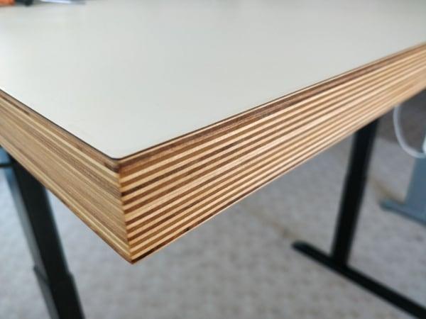 Ergoliv all-day casual desk closeup