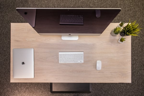 Perfect desk layout