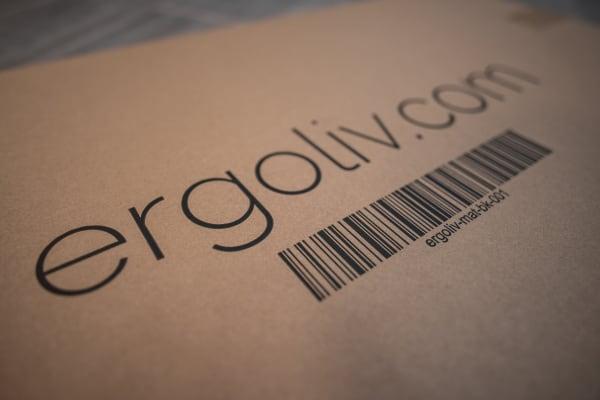 Ergoliv Mat anti-fatigue mat package logo